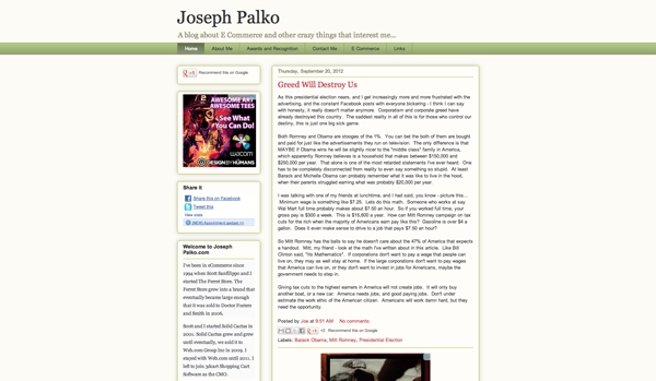 http://www.josephpalko.com
