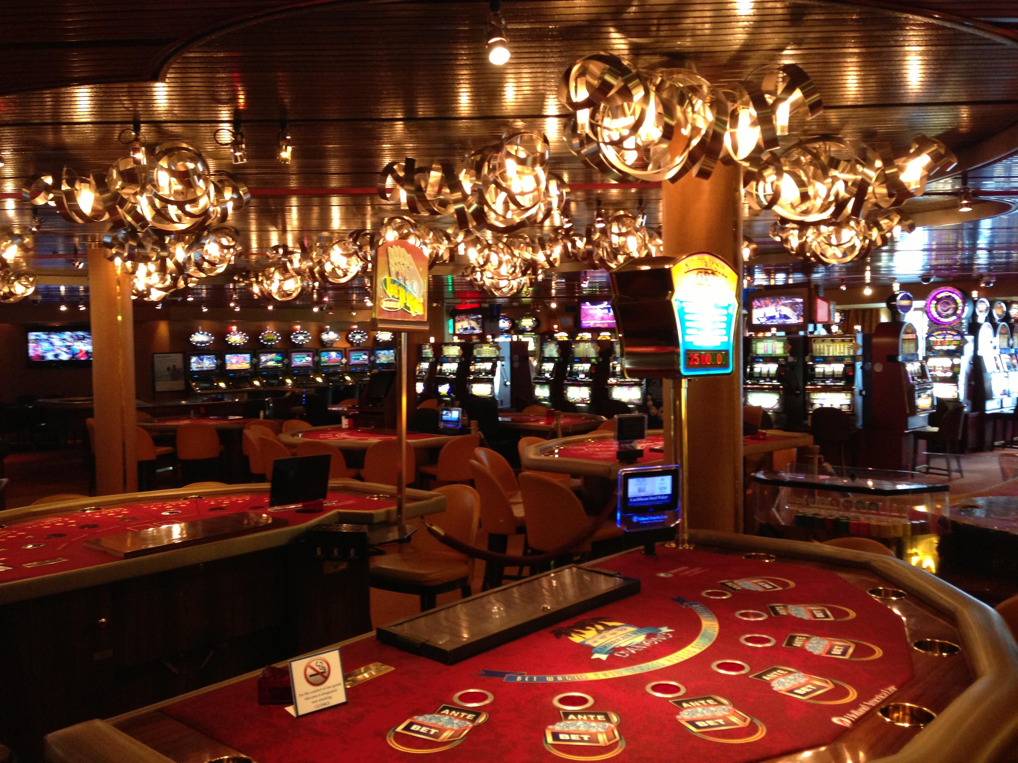 Gambling on holland america