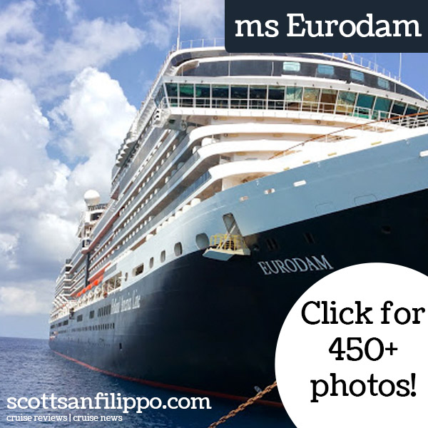 Guest Cruisers Log Holland America Lines Ms Eurodam Day - Best holland america cruise ship