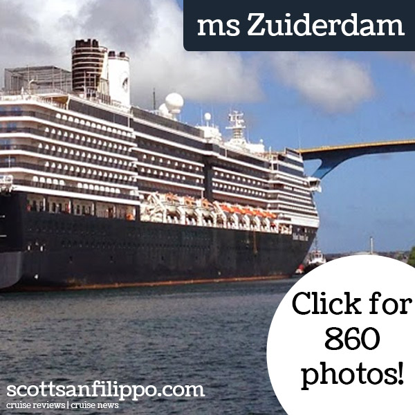 Holland America Cruise Line Food Reviews