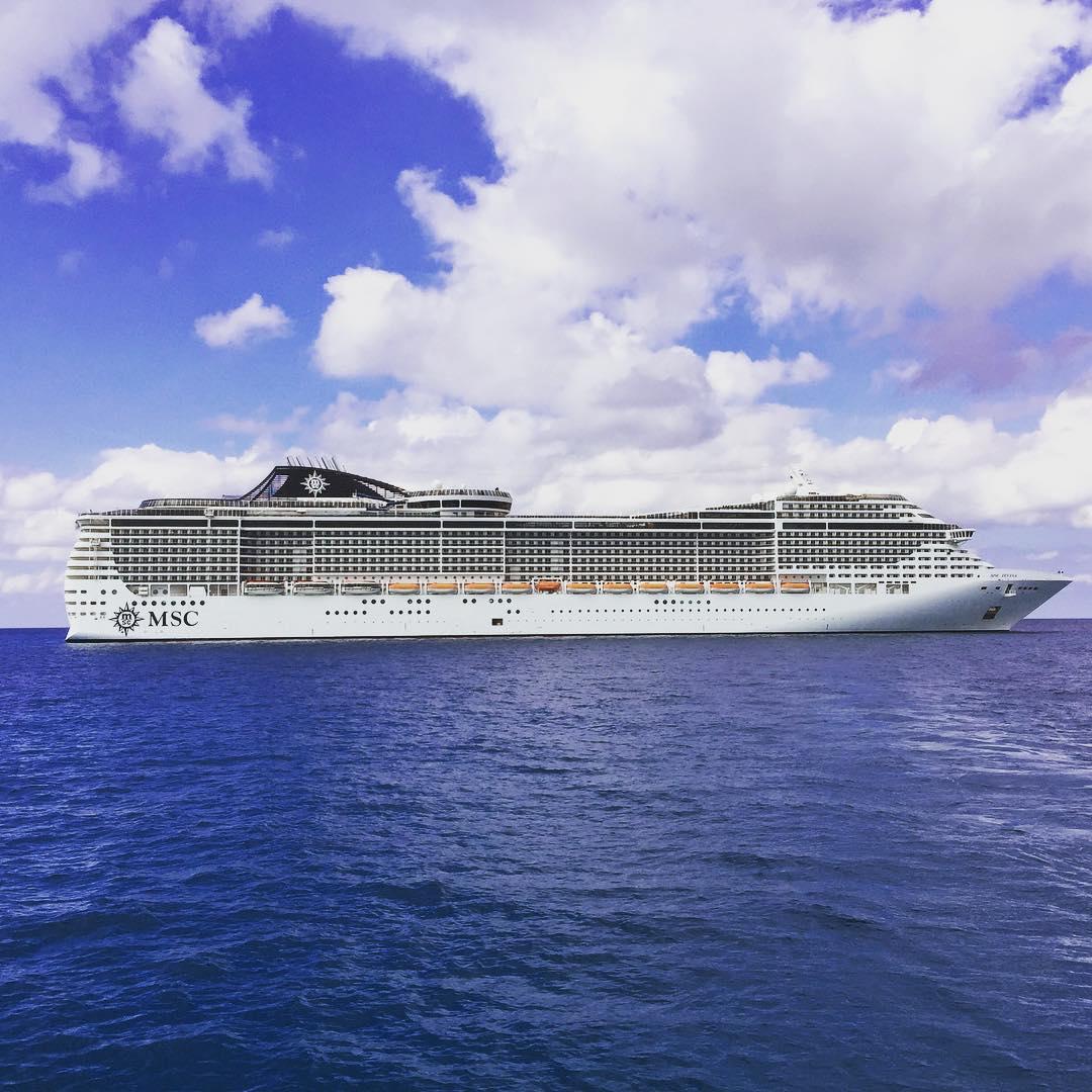 MSC Divina Eastern Caribbean Cruise Review Day Scott Sanfilippo - Msc divina cruise ship