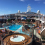 The main outdoor pool on the MSC Divina