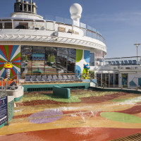 H2O Zone Deck 14 Pool Deck Midship Anthem of the Seas - Royal Caribbean International