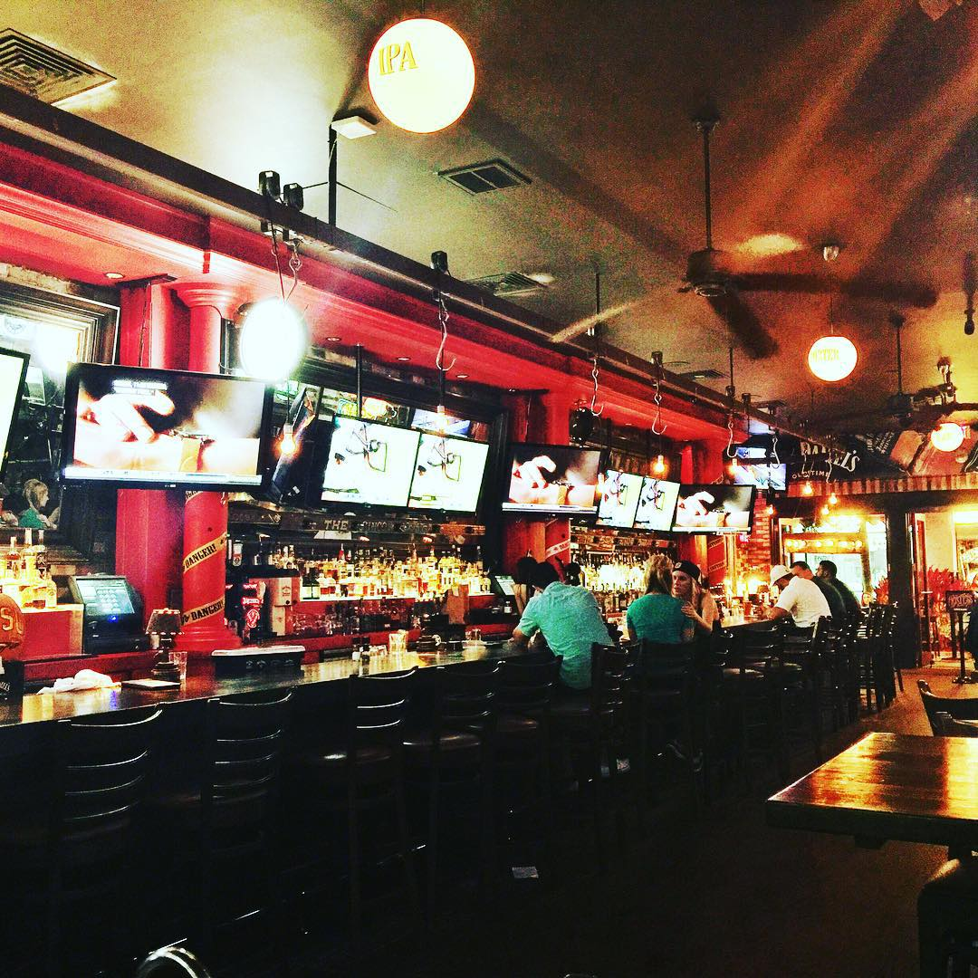 A Look Inside Grease Burger Bar On Clematis Street In Downtown West Palm Beach