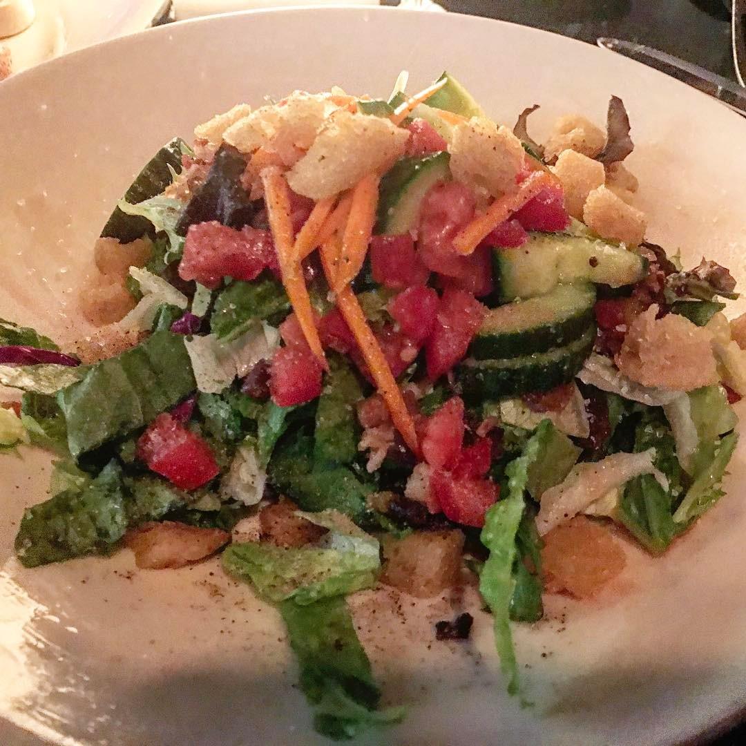 Alexu0027s Salad From J. Alexanderu0027s In Boca Raton
