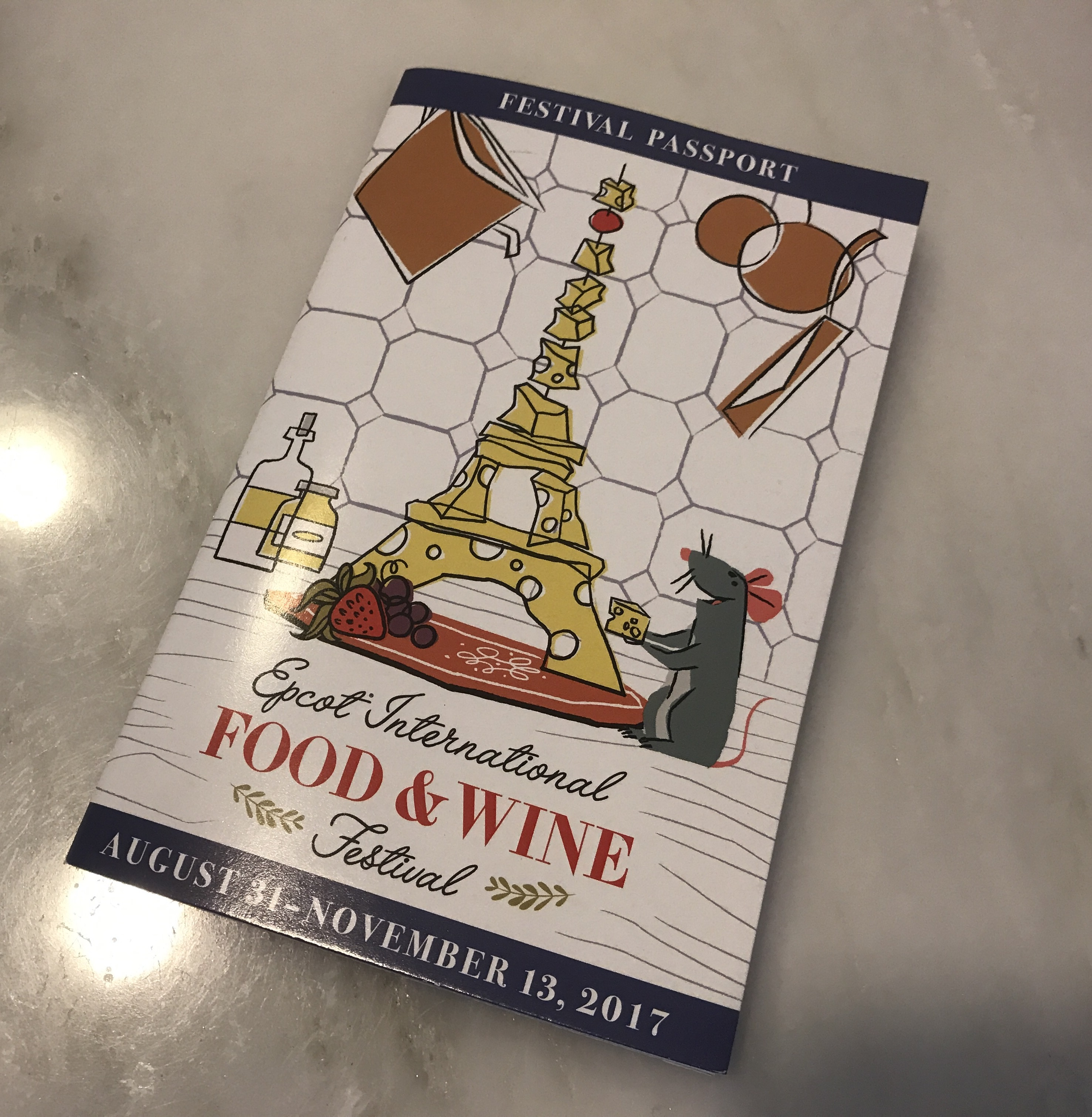 Epcot Food and Wine Festival passport