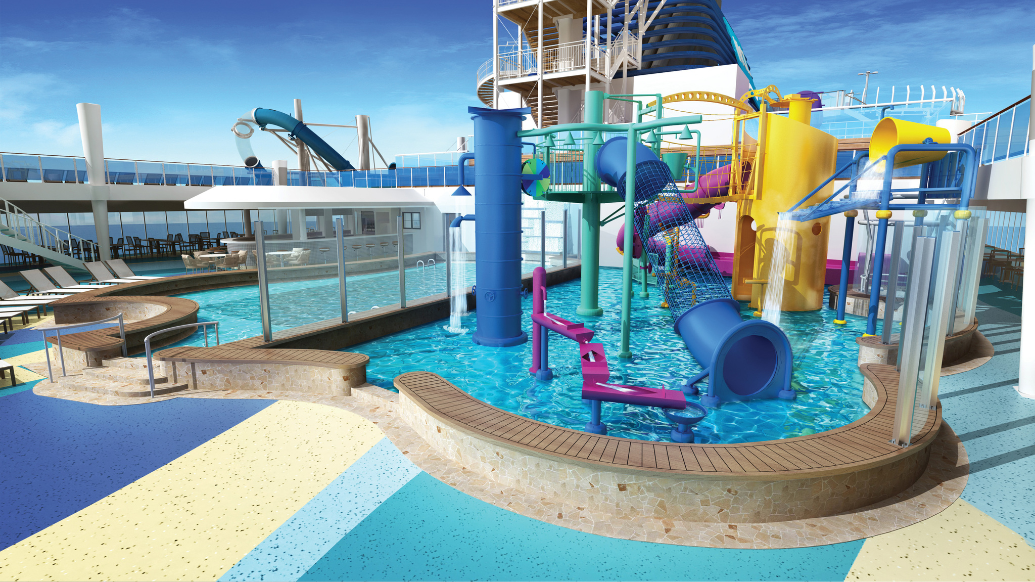 Image result for norwegian bliss Kids' Aqua Park,