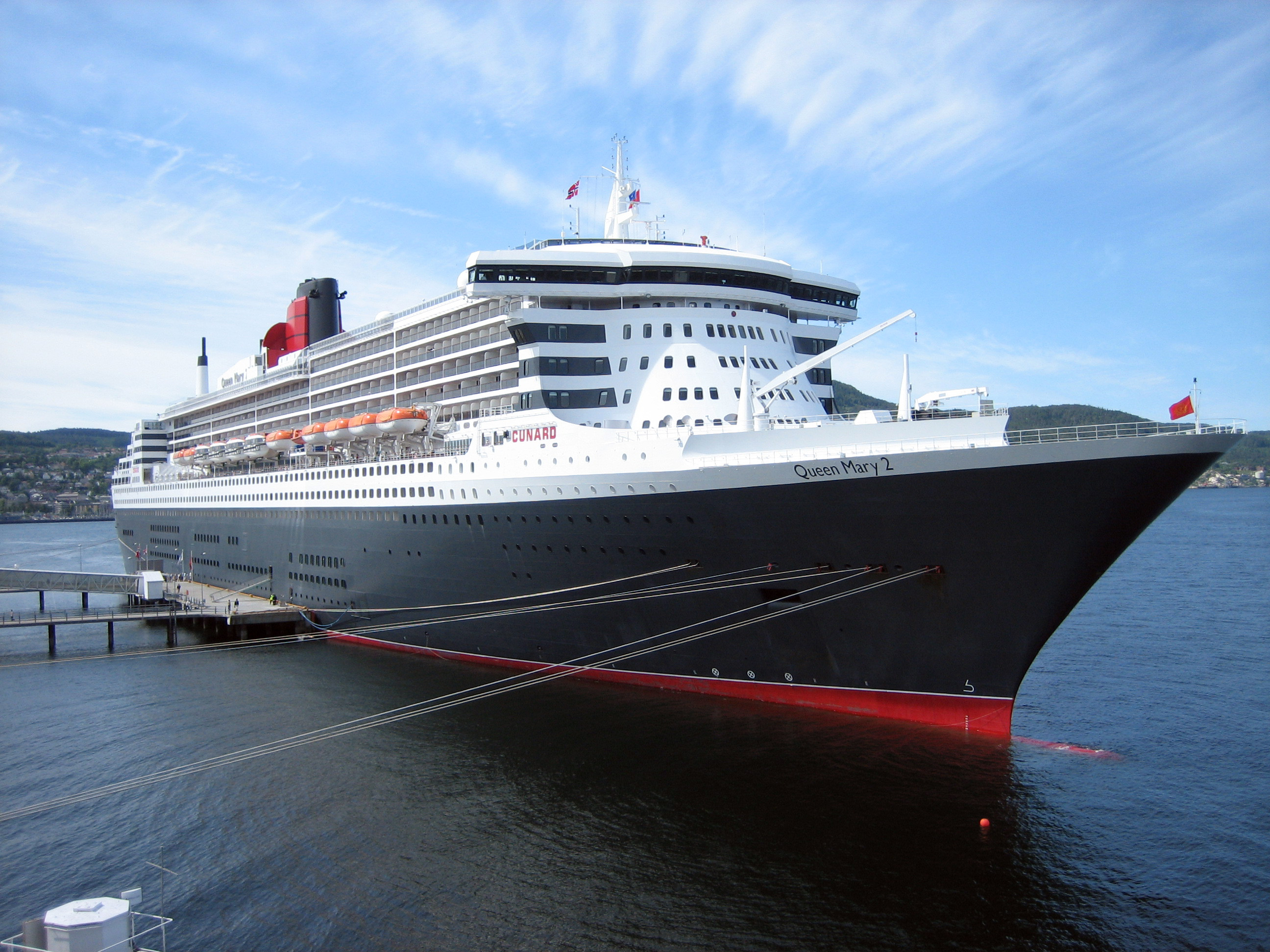 Queen Mary 2 At Trondheim Photo Credit Wikimedia Commons User Beagle84