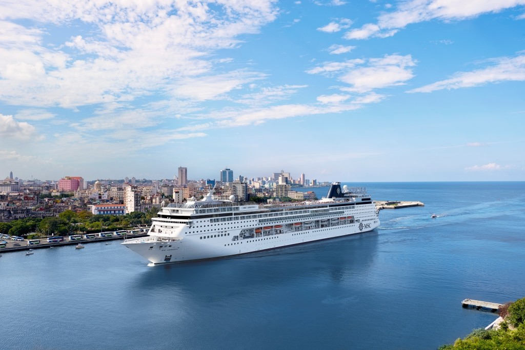 Msc To Offer Cruises To Cuba From Miami December 2018