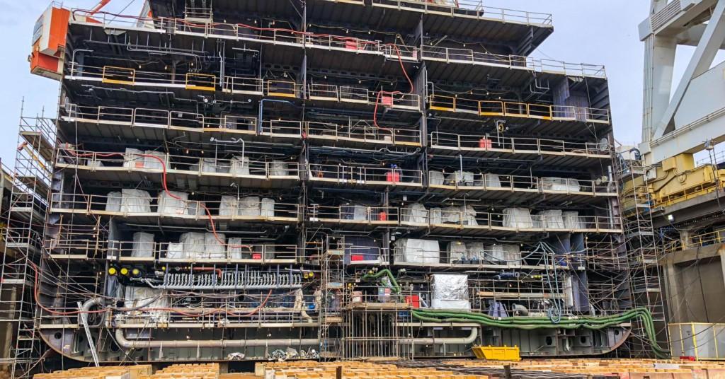 Virgin Voyages Cruise Ship Construction Photos Scott Sanfilippo